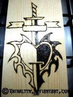 Pyrography: Suffer by tribaltyn