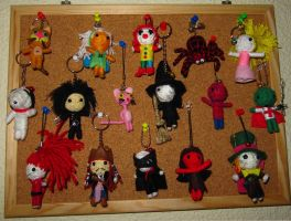Collection voodoo doll part 1 by kaiser-art