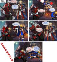 Ragna's birthday present by SnakeRule