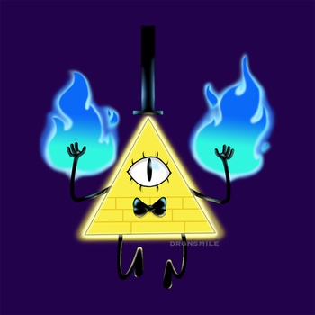 Bill Cipher by drgnsmile