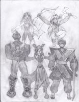 The Fortune Crew by Sigfriedofgaea