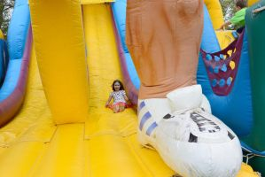 Medway Founder's Day Fun, Bouncy Slide by Miss-Tbones