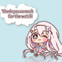 My thanks for watching! by Haruea