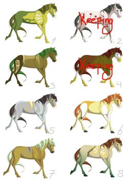 Horse bidding and Drawing contest -OPEN by Denwyn