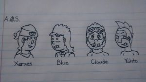 Nerds Drawn with Pen by AnOptimisticSnarker