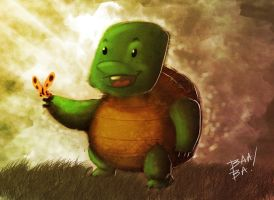 Lil Turtle Speed Paint by 2BeanSoup