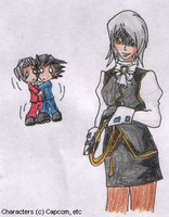 Franziska is Scary by SamCyberCat