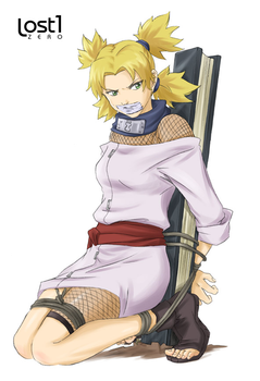 Temari tied up and gagged by RopeLover96