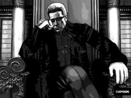 All hail lord Wesker by monkeygigabuster