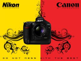 Nikon D3 vs Canon 1Ds Mark III by vitare