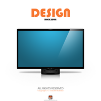 Black Pearl : Cinema Display Monitor Concept by MadeInKobaia