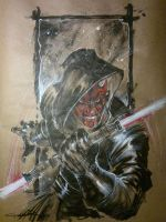 Darth Maul by Cinar