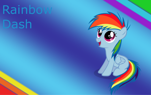 little Rainbow Dash by Freddylover13