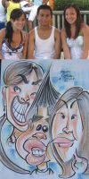 caricatures- ric3e eaters 08 by chrisCHUA