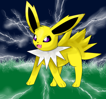 Jolteon by KendraTheShinyEevee
