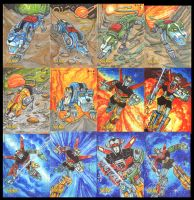5FINITY VOLTRON CARDS SET2 by AHochrein2010