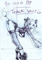 thank you for 10.000 hits by Bielegraphics