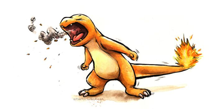Charmander by kenket