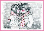Wrapped up in love by Leonora86