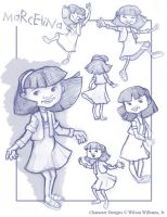 Lil Girl Sketches by WilsonWJr