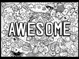 DOODLE: Awesome by vicenteteng