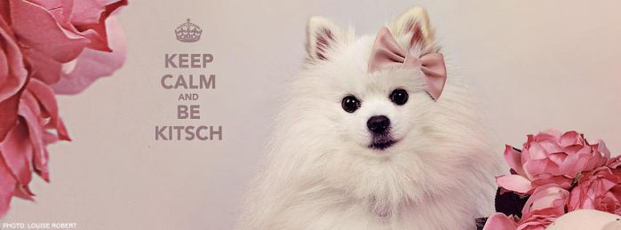 Keep Calm And Be Kitsch by JusDeFraise
