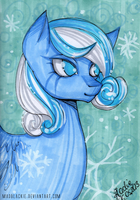 Flower Series: Snowdrop by MadBlackie