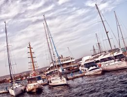 yachts by sickSizzle