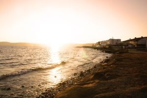 Sun Rise at Cesme by devilosat