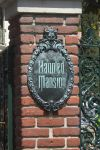 Haunted Mansion Sign Disneyland by JEN-LOVES-DISNEY