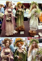 Doll Fair 2014 - Three Faeries by Til-Til