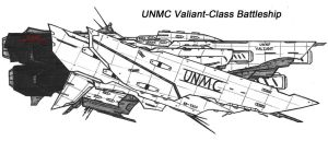 UNMC Valiant-Class Battleship by Malcontent1692