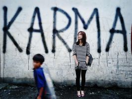 For the Love of Karma by crizoe