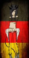 German-flag-Jinni by gryffindorseekerhp