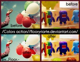 Colors action - by floor by FloorYriarte