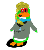 ClubPenguin - Drawing request - Michy1943 READDESC by jazzyblock