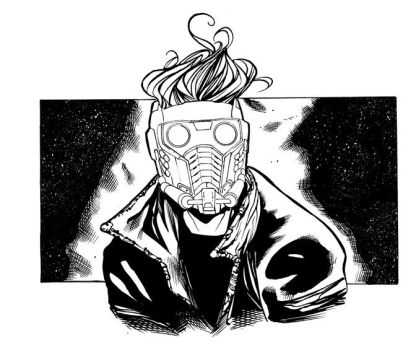 Star-lord Inked by Csyeung