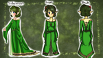 CE: Saria redesign by Coco-of-the-Forest