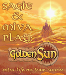 Golden Sun Charity Marathon Logo by Golden-Sunrise-Forum