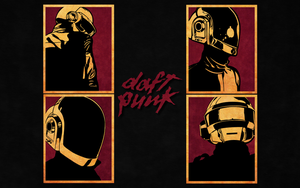 Daft Punk Wallpaper by xDaftPunk
