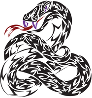 Twisted Snake by white-tigress-12158