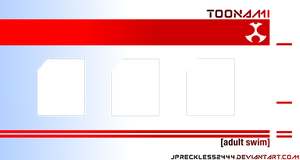 Toonami Now, Next, Later Template by JPReckless2444
