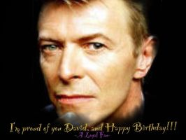 Happy (Belated) Birthday David Bowie!! by askthebrat