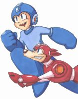 The Megaman by ManOfLaMancha