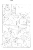 Sonic x #40 pg 9 by Dhutchison