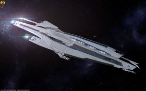 Alamo class Frigate by Euderion