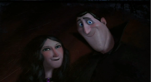 Hotel Transylvania Portrait of Martha and Dracula by Lickried