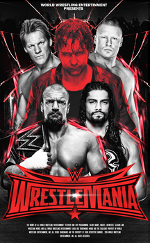 WRESTLEMANIA 32 by A-XDesigner