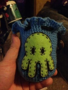 Cutethulhu dice bag by sazriel