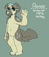 Renee Reference Sheet by smogmonsters